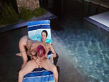 Poolside Anal Sex With Hot Pornstar Anna Bell Peaks