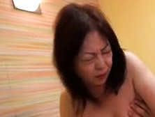Redhead Japanese Nurse Flashing Her Hairy Snatch In Close Up