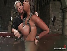 Winsome Candace Von In A Kinky Sex Video
