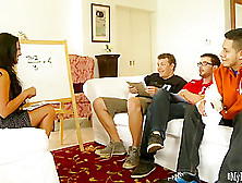 Can Danica Dillan Teach These 3 Guys About Math Well,  She Can Te