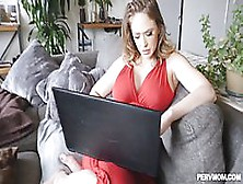 Kagney Linn Karter Is Getting Her Dripping Wet Pussy Filled Up W