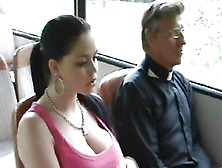Dirty Old Men Grope A Teen On A Bus