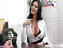 Sex Sells,  & Busty Saleswoman Jasmine Jae'S Clients Prove It!