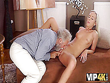 Sex Of Old Pedagogue And Sexy Chick Ends With Awesome Cumshot