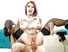 Spizoo - Anna Bell Peaks Fuck Her Step Brother,  Big Booty