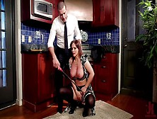 The Perfectionist: Anal Seductress Teaches Co-Ed To Squirt For Grades