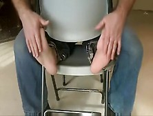 Vintage - Sk8Erboi Shows His Feet Then Gets Tickled 3X's