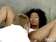 Horny Black Erotica Joymii Enjoying Pussy Licking Sex With Her P