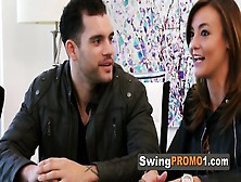 Amateur Reality Swing Show.  Swinger Young Couples Embark The Bes