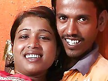 Indian Lady And Her Husband Are Doing It In Front Of The Camera,