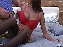 Jane Is A Hot Brunette Who Likes To Have Hardcore Sex,  Until She Starts Screaming From Pleasure