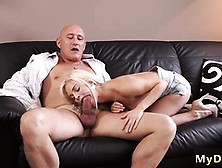 Old Men Dp And Man Eating Teen Pussy Xxx Horny Blondie