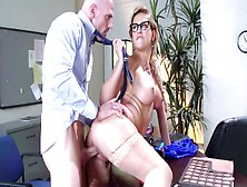 Cherie Deville Sucks Dick Then Bends Over For Some Office Fuck W