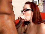 Tiny Geek Size Queen Needs Cornholing By 2 Throbbing Ebony Studs