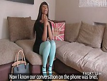 Ebony Fingers Ass For Fake Agent Uk