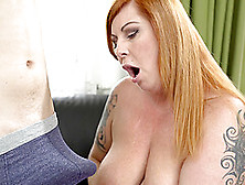 Tattooed Tammy Jean Rides A Dick While Her Big Tits Bounce