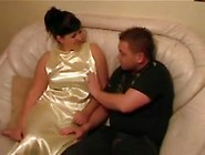 Japanese satin fetish and support