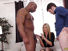 Cougar India Summer Tears Up Massive Dark-Hued Dick - Cuckold Sessions