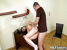 Anal Sex Loving Milf Got Banged And Filled Up With Cum,  To Round