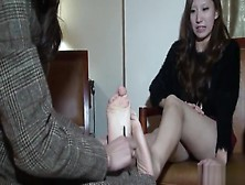 Japanese Girl Boots Without Socks Tickled