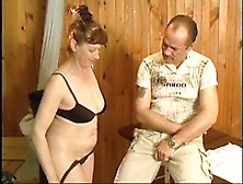 Lovely German Mature Fucked In Sauna