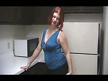 Redhead Chubby Teen In The Kitchen - Xhamster. Com